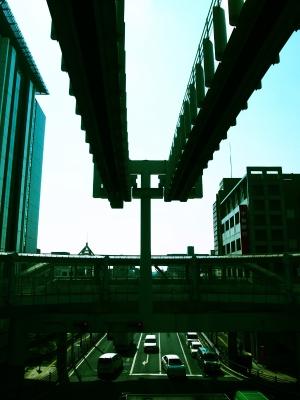 千葉モノレール 県庁前駅