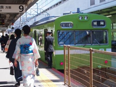 京都駅 奈良線 103系
