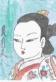 4浮世絵風前美人懐月堂安度 (2)