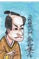 4浮世絵東洲斎写楽二代目市川門之助の伊達の与作 (1)