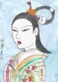 5浮世絵紅葉美人懐月堂度繁 (5)