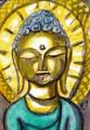 3法隆寺所蔵の橘婦人念持仏阿弥陀三尊像 (1)
