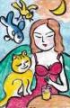 5猫のいる絵マイケルルー (3)