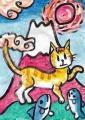 4猫のいる絵マイケルルー (5)