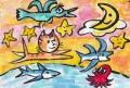 4猫のいる絵マイケルルー (14)