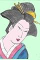3浮世絵角田川月見船旧暦八月清長 (2)浮世絵 (3)