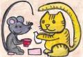 5大津絵猫と鼠