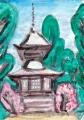 4穴太寺多宝塔tahoutou (1)