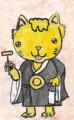 5大津絵猫の念仏