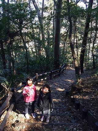 本郷ふじやま公園古民家~頂上