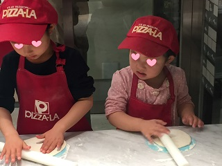キッザニアpizza-la