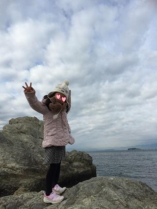 森戸神社から江ノ島
