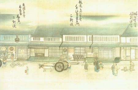 京の町家絵図