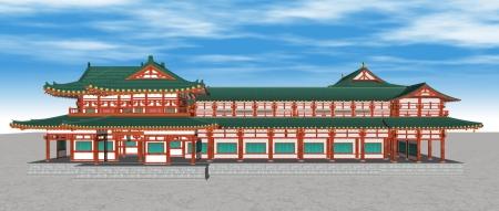 平安京応天門東側