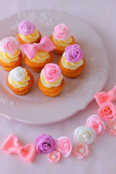 112バレンタインカップケーキ