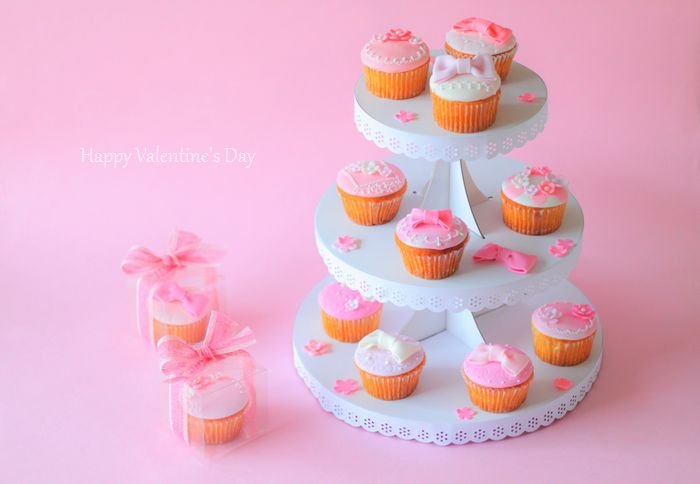 1231 バレンタインカップケーキ
