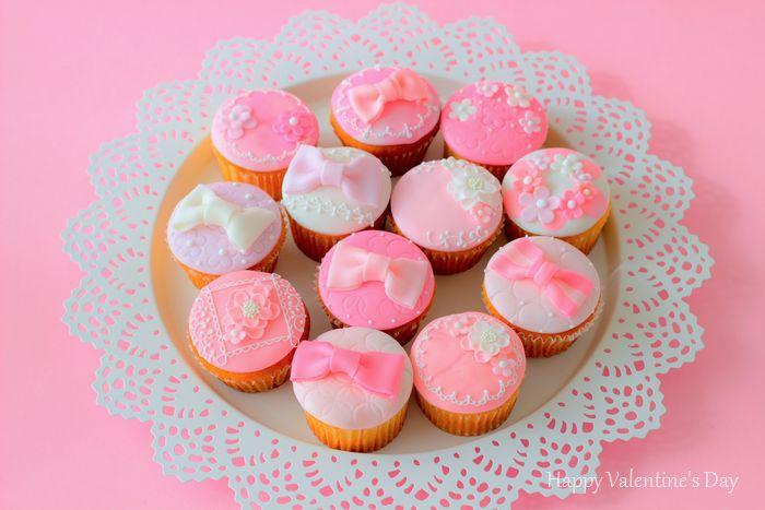 1231 バレンタインカップケーキ2