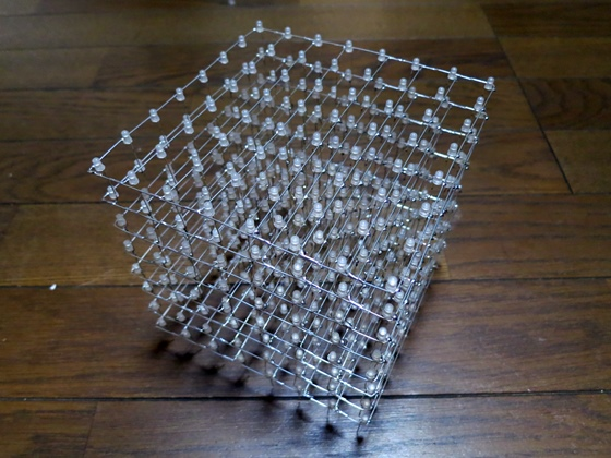 8×8×8 LED CUBE-1