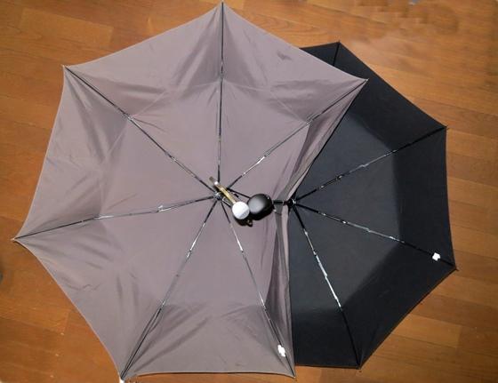 折り畳み傘新旧比較1