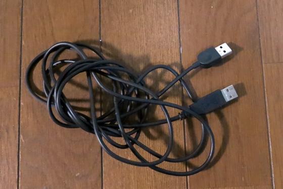 改造USBケーブル