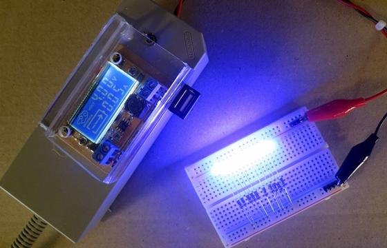 LEDの電流(4V)