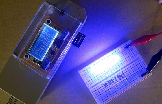 LEDの電流(5V)