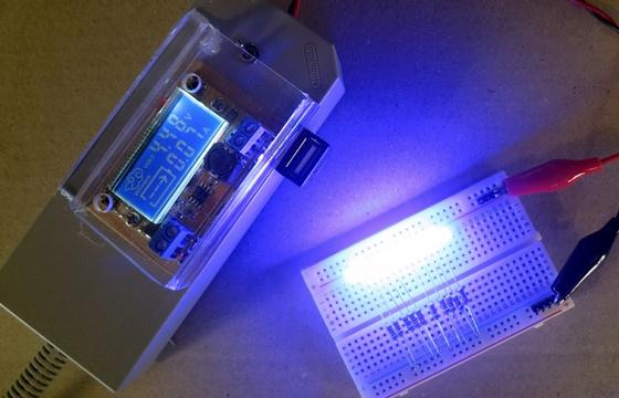 LEDの電流(45V)