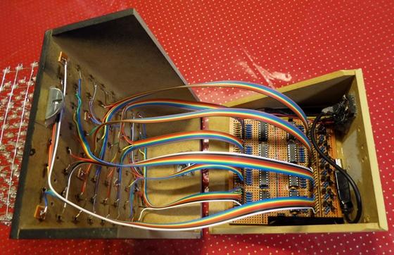 基板LED接続