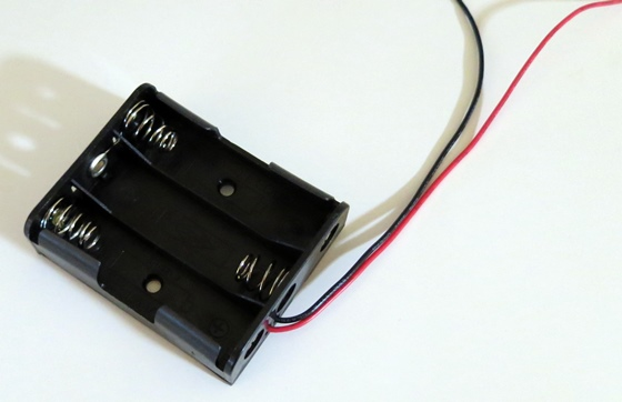 単3×3乾電池ホルダー