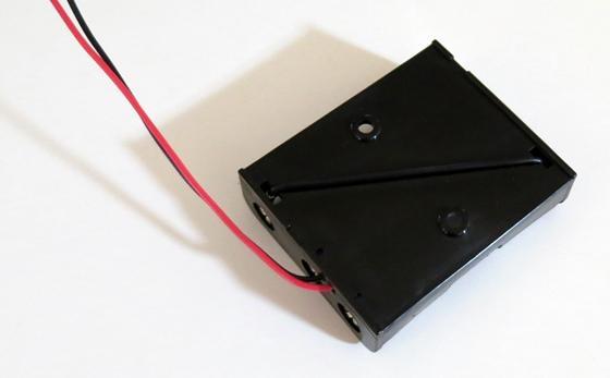 単3×3乾電池ホルダー裏
