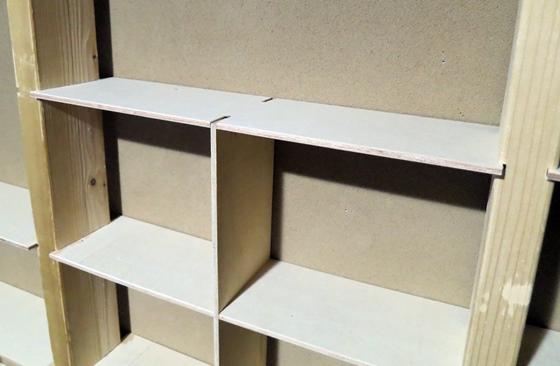 上下端の棚板セット