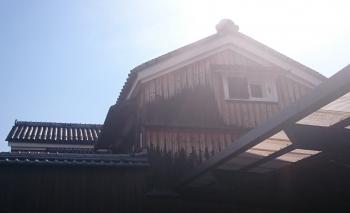 前川邸(蔵の裏)