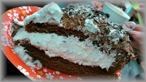 ケンテル チョコレートバースデーケーキ 201602 (1)