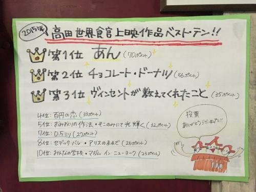 2016-01-27高田世界館ベスト・テン