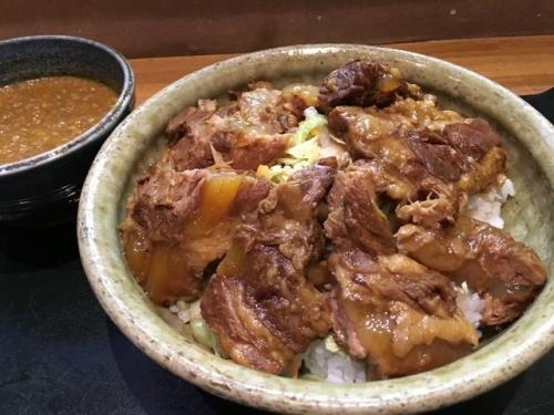 2016-02-06豚軟骨丼