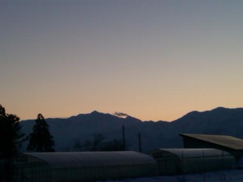 2016-02-11 17時36分の焼山