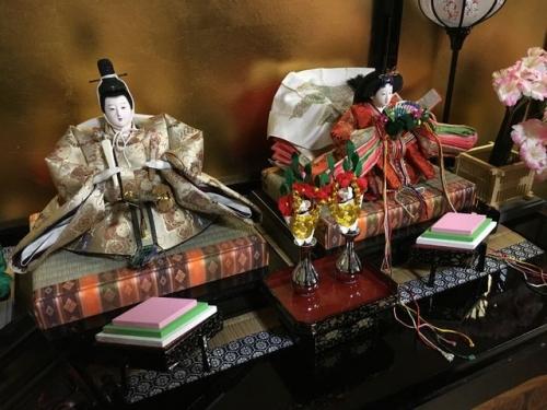 2016-03-05 安傅寺(寺町3」の二人飾り雛