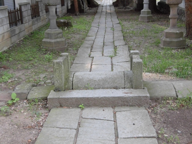 武瑞穂神社の参道橋