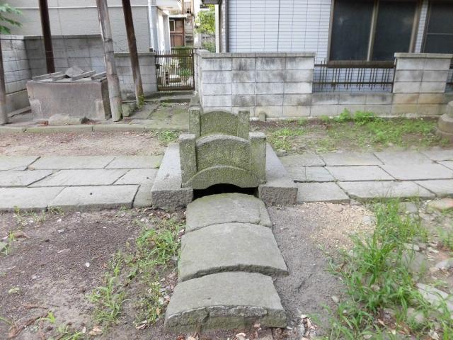 武瑞穂神社の参道橋 (3)