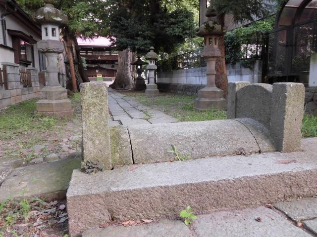 武瑞穂神社の参道橋 (5)