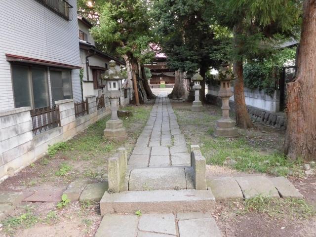 武瑞穂神社の参道橋 (6)