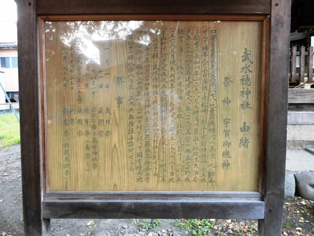 武瑞穂神社の参道橋 (9)