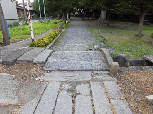 皇大神社の参道橋 (2)
