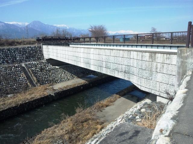矢原堰水路橋 (2)