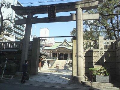 3-17 長堀橋から難波神社へ2