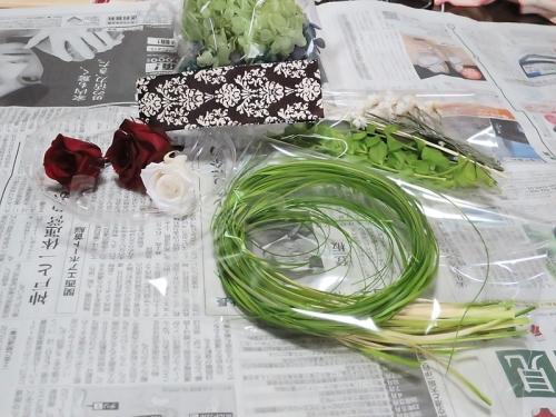 a new leaf_花材