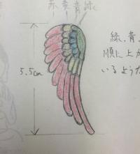 翼ペンダントトップ04
