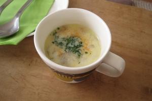ごぼうのミルクスープ