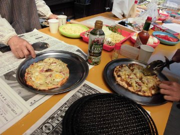 28年度春のピザ焼き3