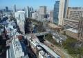 手前中央は御茶ノ水駅、右は東京医科歯科大